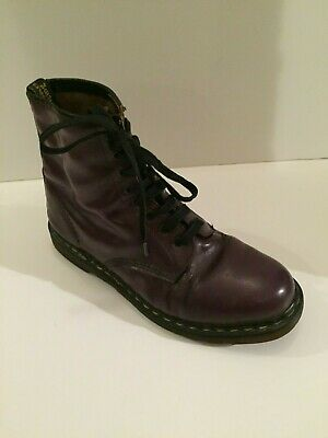 Vintage Dr.Martens  Boots  PurpleMade In England UK.11