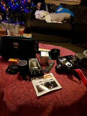 Pentax 35mm Camera And Accessories