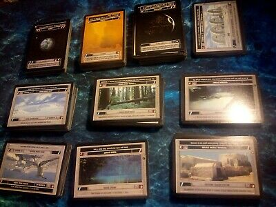 Dark Side, White Border Star Wars CCG A New Hope Unlimited Rare Cards Part 2//2