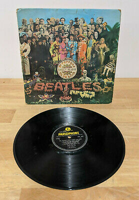 The Beatles Sgt Peppers Lonely Hearts Club PMC 7027 MONO 1967 - Please Read P/F