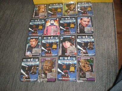 Dr Who Monster Invasion Trading Cards pick five cards from long list