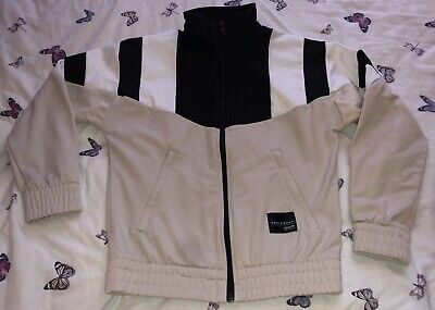 Beige Adidas Tracksuit Kids Boys Girls Size Age 9-10 Worn A Couple Of Times.