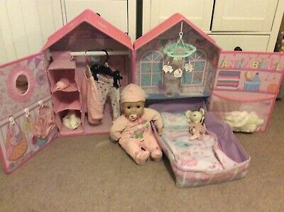 Baby Annabell Interactive Doll plus Bedroom Accessories Bundle Zapf Creations