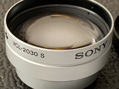 SONY VCL-2030S Tele Conversion Lens (factor x2)