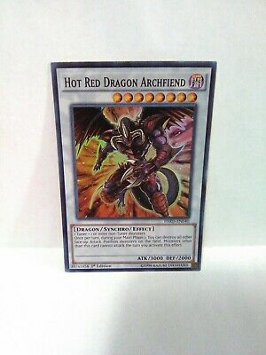 Yugioh Hot Red Dragon At Hfiend Holo Rare Ist Ed Hsrd-en040