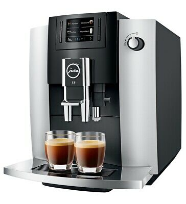 JURA E6 Platinum New Fully Automatic Coffee Machine