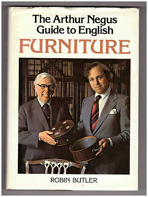 The Arthur Negus Guide to English Furniture, Robin Butler Rare Hardback Book