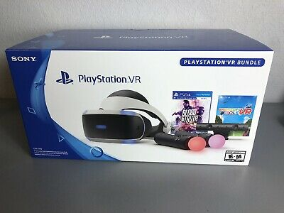 PS4 VR PlayStation VR Blood And Truth and Everybody's Golf VR Bundle!