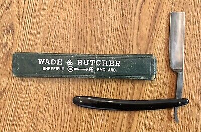 "wade butcher sheffield straight razor, 3/4"" Blade"