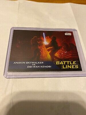 Journey to Star Wars: The Rise of Skywalker BATTLE LINES Card BL-6 - Topps 2019