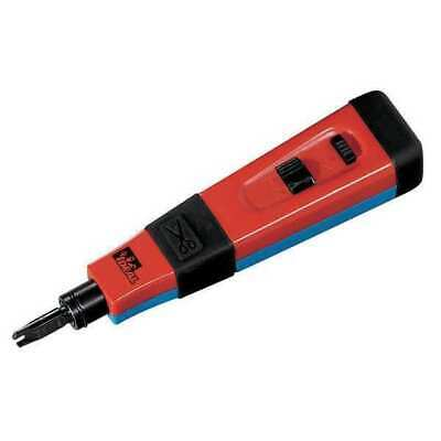 Ideal Punchmaster II Impact Punch Down Tool with 110 & 66 Blades Phone/Data