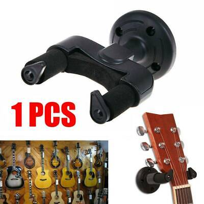 Guitar Wall Hanger Bracket Neck Support Fits Electric, Acoustic and Bass Guitars