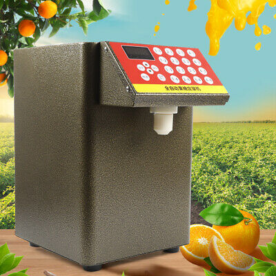 Fructose Quantitative Machine Sugar Syrup Dispenser Bubble Tea Equipment 280W