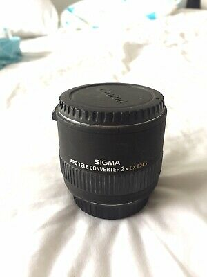 Sigma 2x Teleconverter for Cannon Mount