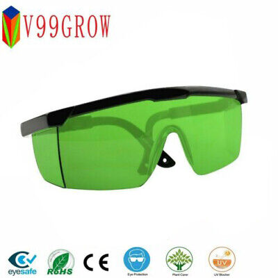 LED Grow Light Glasses Indoor Hydroponic Room Plant Visual Eye Protection UV BR
