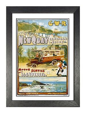 Porthcawl Mermaid Railway GWR Old Advert Western Region Vintage Poster
