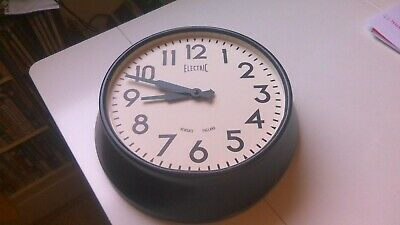 NEWGATE ELECTRIC WALLCLOCK - SPARES REPAIRS ONLY - see full description