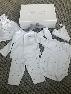 The Little White Company New Baby Gift Set 0-3 Months Outfit Brand New. RRP £50!