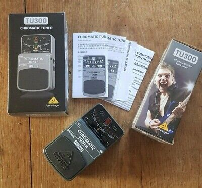Guitar Tuner - Behringer TU300 Hardly used, Great condition