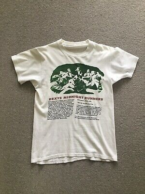 Vintage Dexys Midnight Runners Tour Shirt Single Stitch Size Small