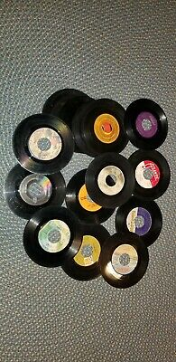 """Lot of  45's Records Jukebox 7"""" 45 RPM vinyl records various artists"""