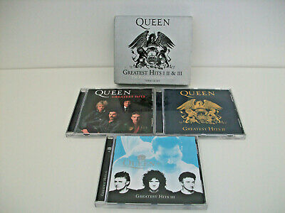 Queen Greatest Hits 1 2 & 3 The Platinum Collection-Three CD Set