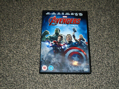 Avengers : Age Of Ultron - Marvel Dvd In Vgc (Free Uk P&P)