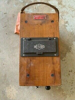 Vintage Herman H. Sticht RECORD Insulation Tester-DC Generator Type