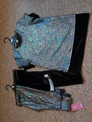 Girls 4 Piece Outfit Age 11-12 Bnwt