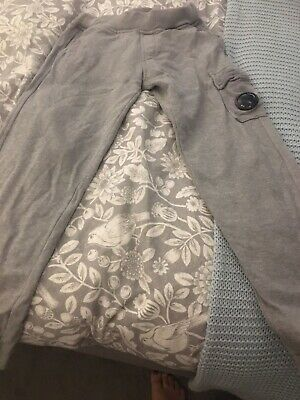 Older Boys CP Company Tracksuit Bottoms / Joggers Light Grey (Age 10 Years)