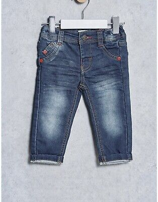 MINOTI BOYS WORN LOOK EFFECT DENIM JEANS *SIZES 3/4yrs to 7/8yrs*