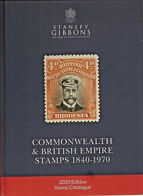 STANLEY GIBBONS COMMONWEALTH & BRITISH EMPIRE 2020 STAMPS CATALOGUE NEW (2scans)