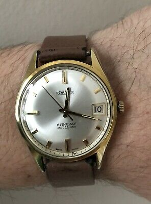 Vintage Roamer Stingray Roto44date Automatic Watch