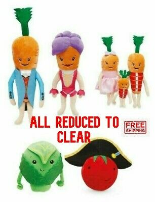 Aldi Kevin Katie Carrot Kids Children Tom Brussel Tomato Giant ALL CHARACTERS