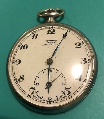 Rare Vintage Tissot Pocket Watch