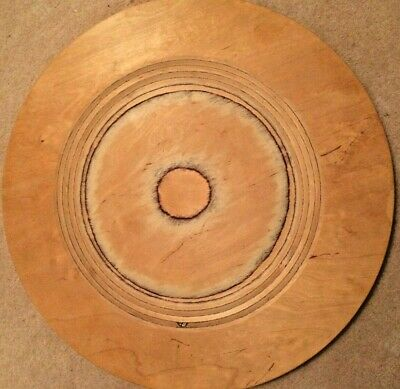 Signed Pienelementti Oy Wooden Platter | Made in Finland | Wooden Artisan 15.5""