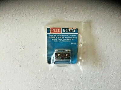 Peco Lectrics Pl-10W Turn Out Motor (Switch Machine) Low Current Version - New.