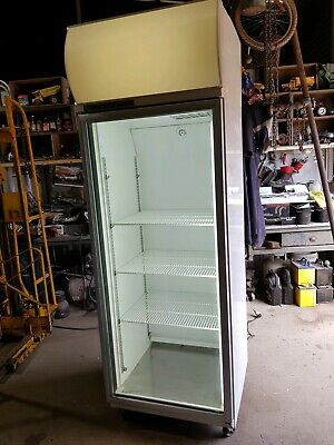 skope 1 door upright fridge
