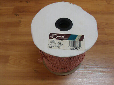 "36 Yards Conso Acetate French Gimp 1//2/"" 001140 J30 Princess Burgundy"