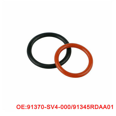 For HONDA ACURA Power Steering Pump Rubber Inlet & Outlet O-Ring Seal 2pcs KIT