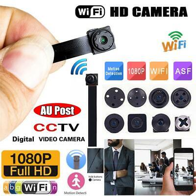 Mini IP Camera Wireless WiFi HD 1080P Hidden SPY Security Digital Video Cam CA
