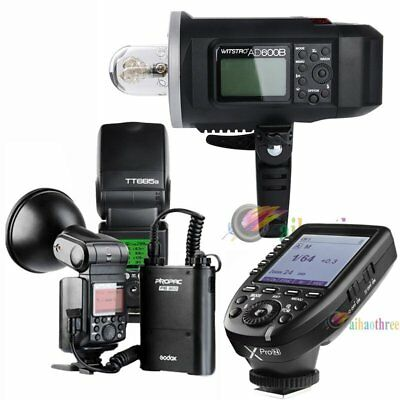Godox AD600B + AD360II-N + TT685N Flash Light + Xpro-N Trigger TTL HSS For Nikon