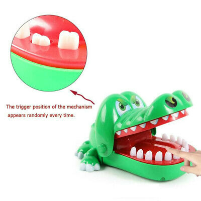 Cute Crocodile Mouth Dentist Bite Finger Teeth Game Funny Novetly Toys For Kids
