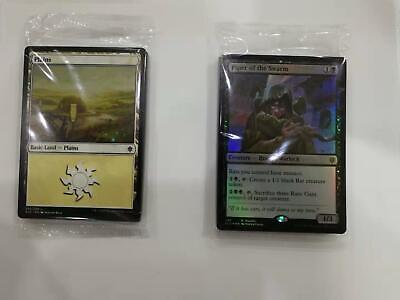 MTG Magic the Gathering foil  Sealed - Throne of Eldraine Land Pack & Promo