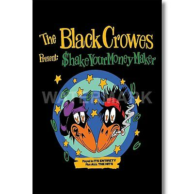 Silk Poster Wall Decor Art Print The Black Crowes