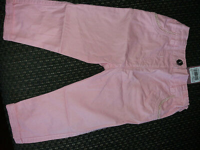 Girls Pink colour trousers. New with tags Age1-1½ years adjustable waist
