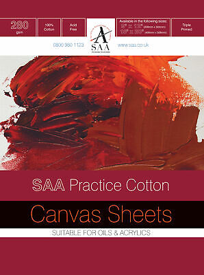 SAA Practice Canvas Sheets