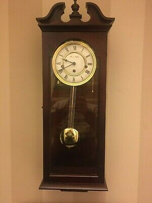 Modern Fox and simpson 8 day  Clockwork westminster Chime wall Clock