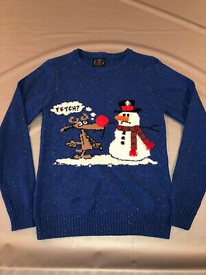 Next Unisex Christmas Jumper 12years