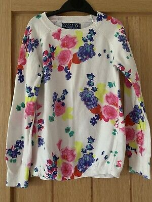 Girls Joules Floral Jumper 7-8yrs